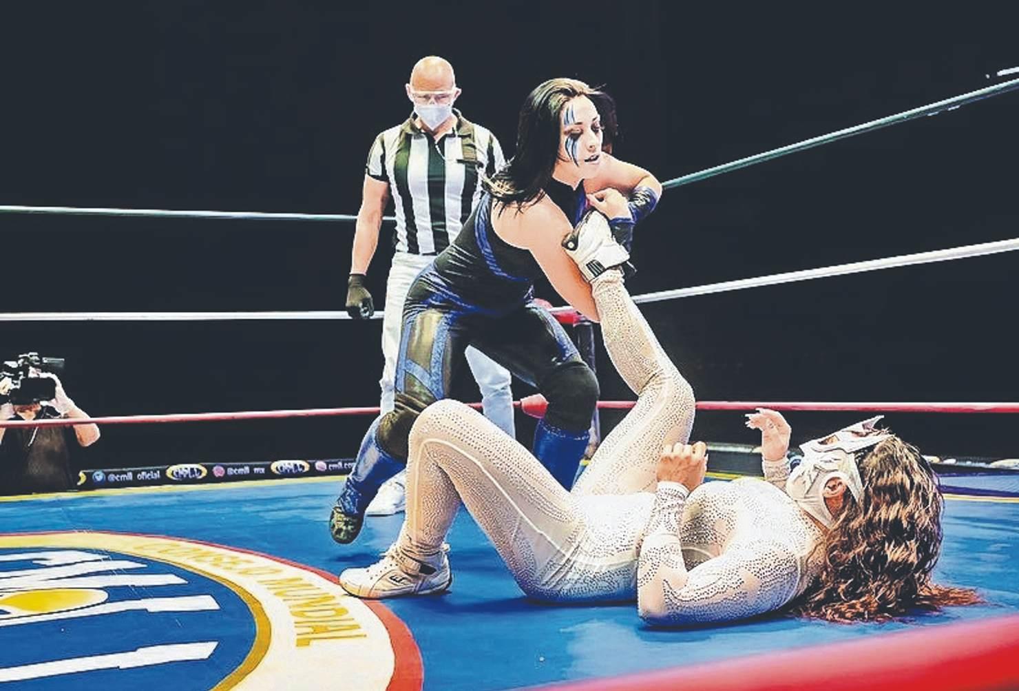 Stephanie Vaquer con ganas de ser la luchadora estelar en el aniversario del CMLL