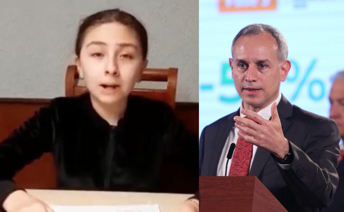 Zulma de 12 años tiene diabetes y gana batalla a López-Gatell, será vacunada vs Covid