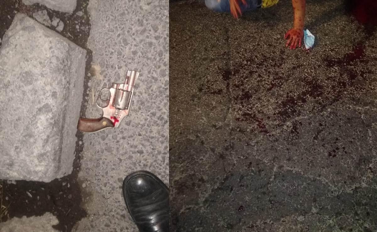 Automovilistas se unen y desangran a patadas a un asaltante, en la Calzada Ignacio Zaragoza