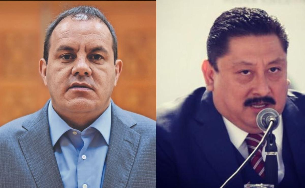 Cuauhtémoc Blanco critica resultados del fiscal Uriel Carmona, le exige que trabaje