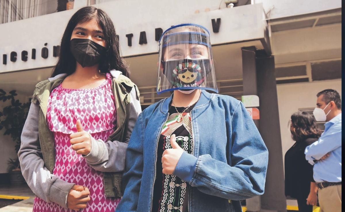 Gracias a amparo, menores de edad en Veracruz reciben vacuna contra el Covid-19