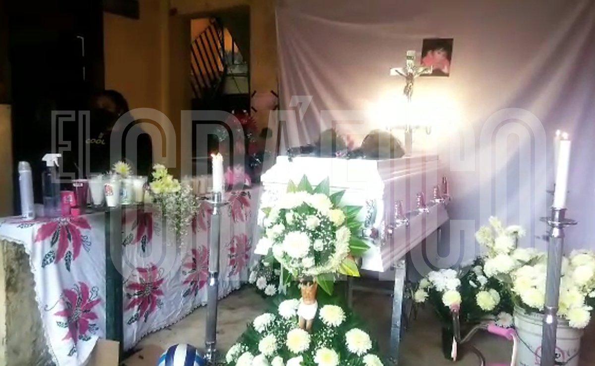 Velan a niña que murió sepultada en el Cerro del Chiquihuite, buscan a su mamá y hermano