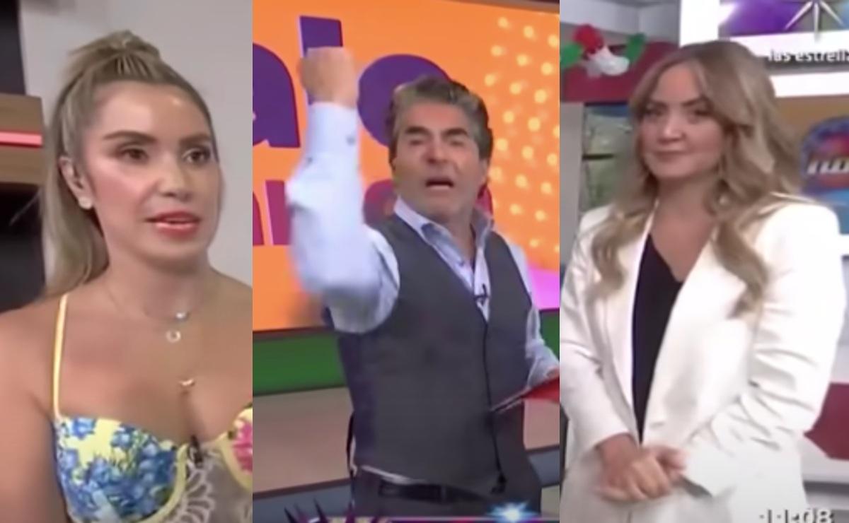 Raúl Araiza exhibe ignorancia de Andrea Escalona en vivo, tras error frente a Andrea Legarreta