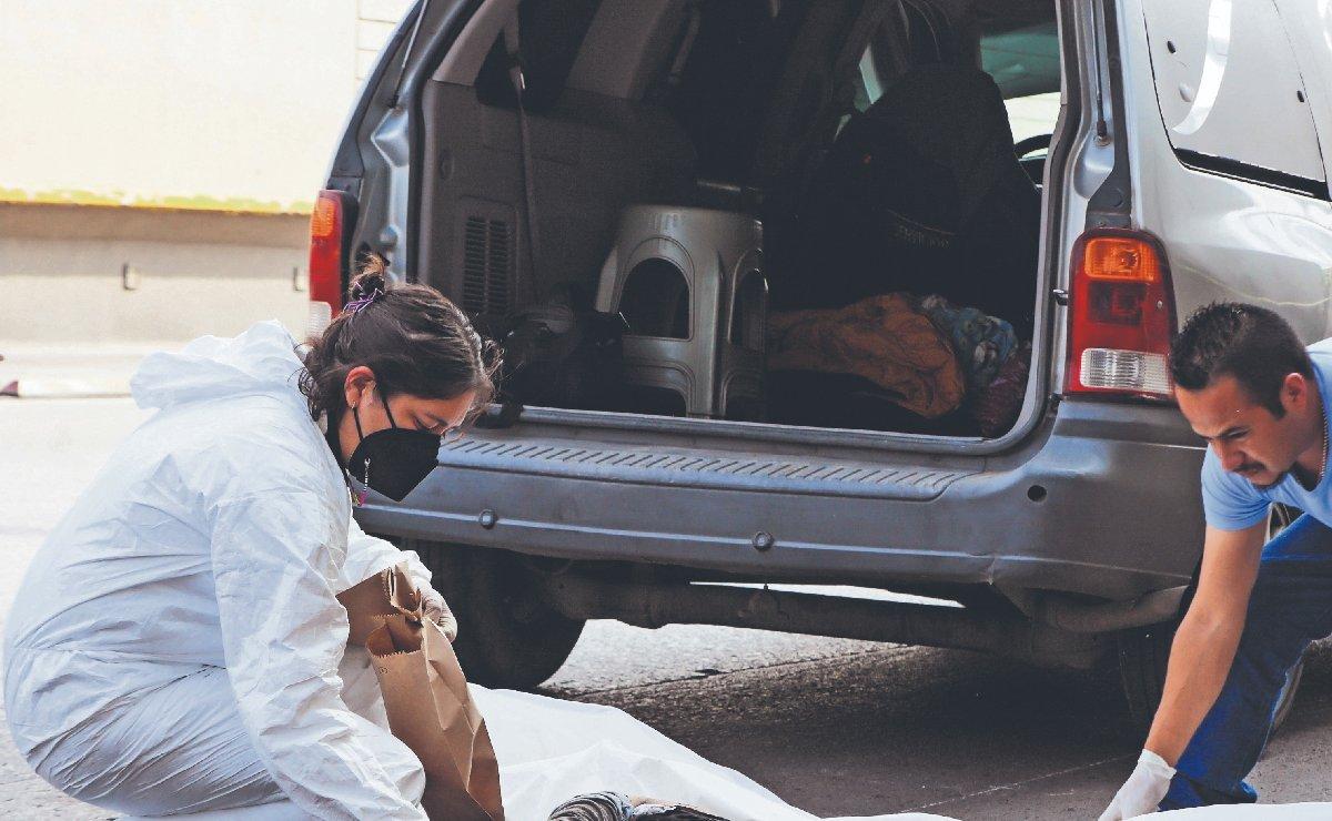 Camionero ebrio embiste a ciclista y le saca los intestinos, en el Estado de México