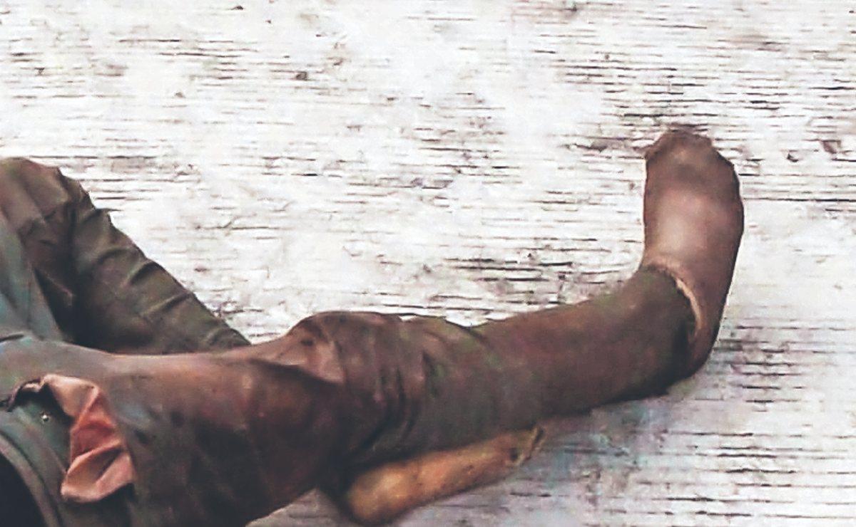 Cadáver de hombre molido a golpes es hallado en la calle por vecinos del Edomex