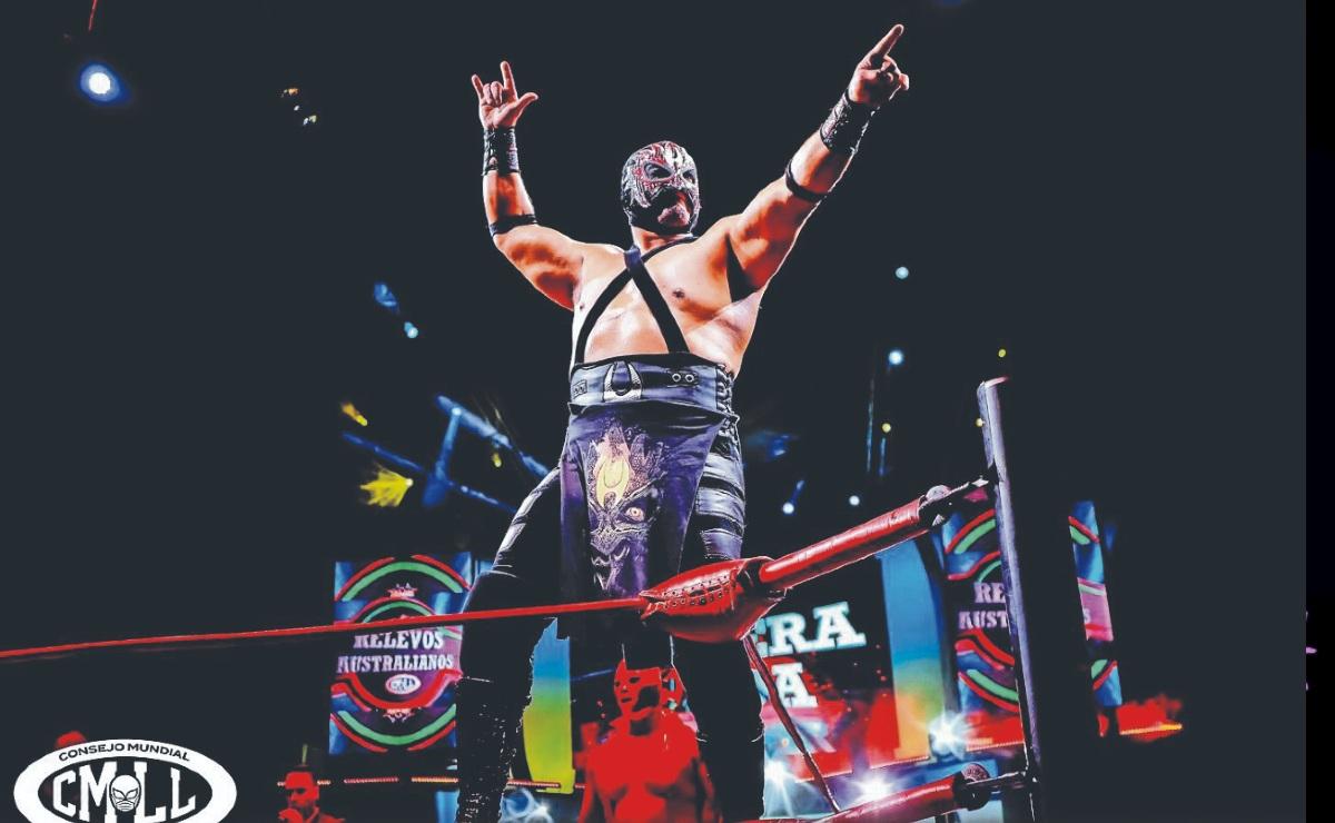 El Hechicero confía en convertirse en el nuevo monarca de los pesados, en el CMLL