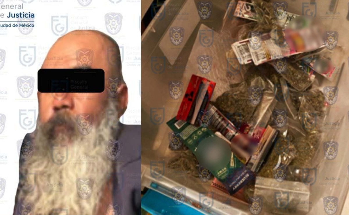 Desmantelan punto de venta de droga en Iztapalapa y detienen a un don