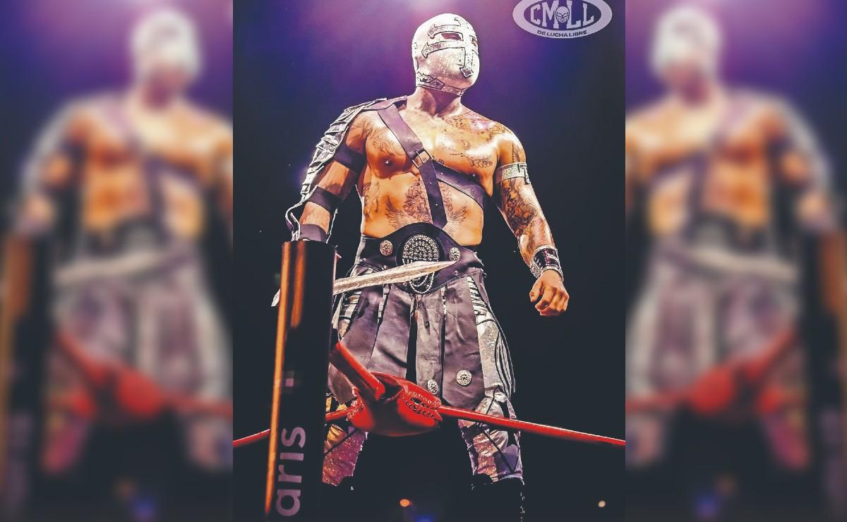 Templario y Dragón Rojo Jr debutarán por el título mediano en la Noche de campeones
