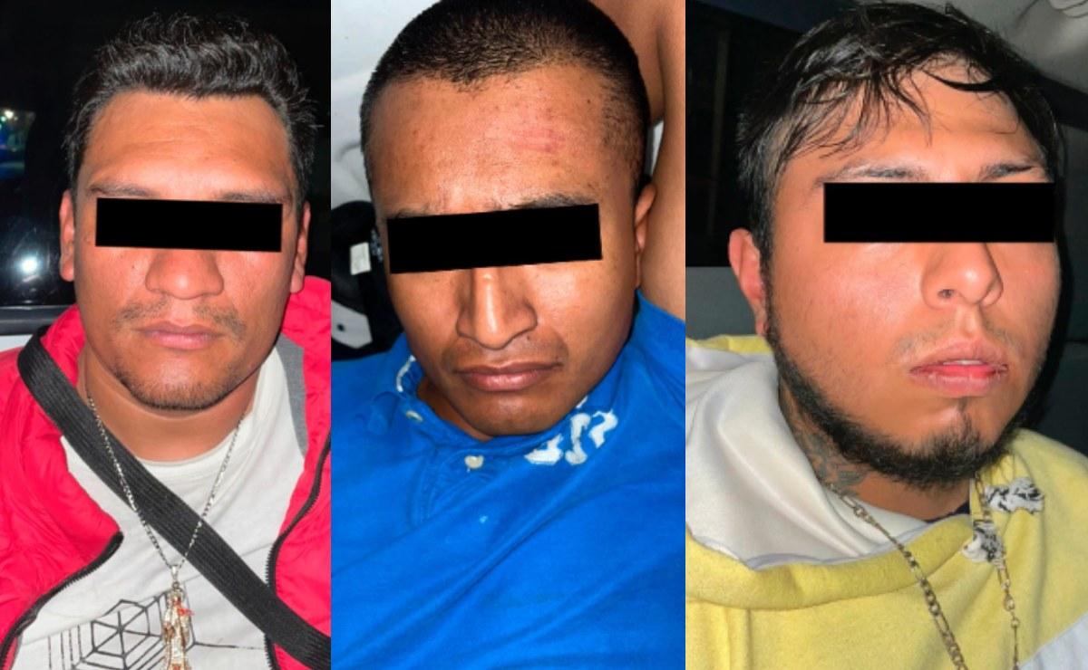 Tuercen a tres sujetos por el homicidio de un hombre, en Iztapalapa