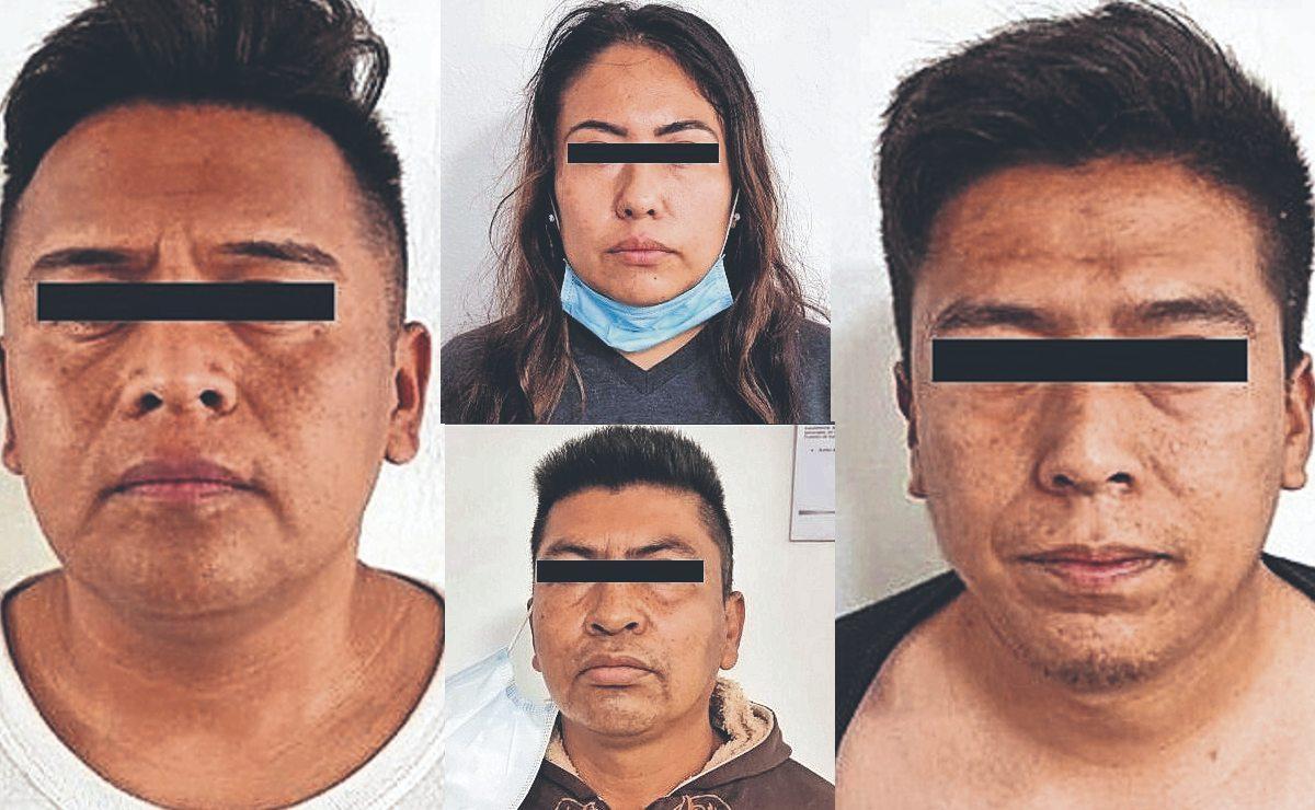 Detienen y vinculan a 4 policías de Edomex por secuestro exprés de 4 personas