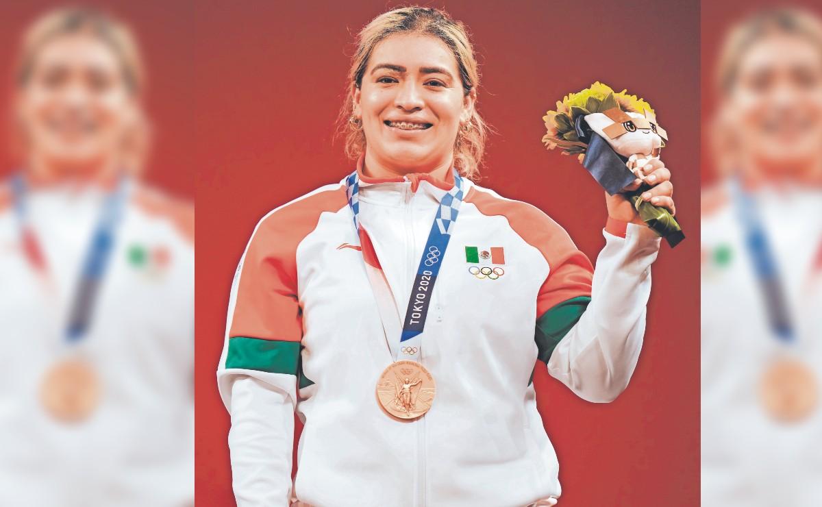 Medallista olímpica recibe cheque sin fondos del gobierno de Baja California