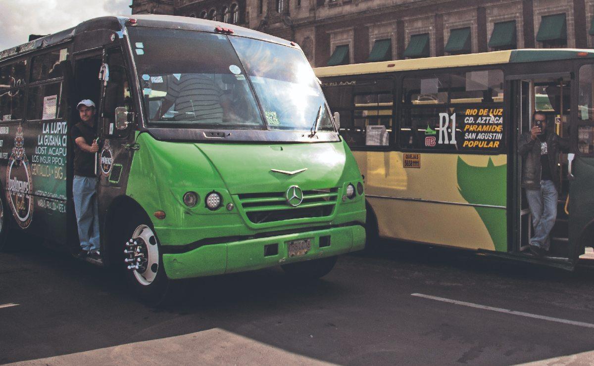 Para evitar aumentos, dan 6 mil pesos por cada unidad de transporte público en CDMX