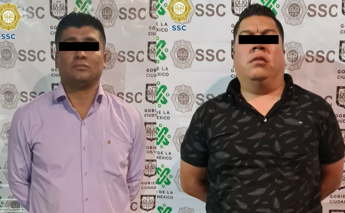 Policías ven a dos vatos muy sospechosos y los atoran con drogas para vender en CDMX