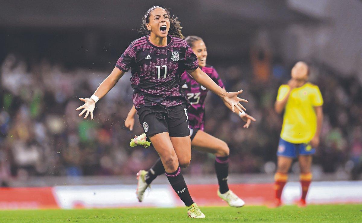 Tras 14 años de espera, Tricolor Femenil regresa al Estadio Azteca y celebra victoria