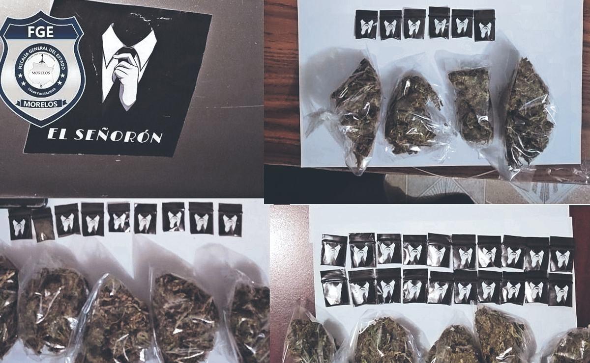 """Tras cateo en casas de """"El Señorón"""", policías de Morelos hallan drogas y armas"""