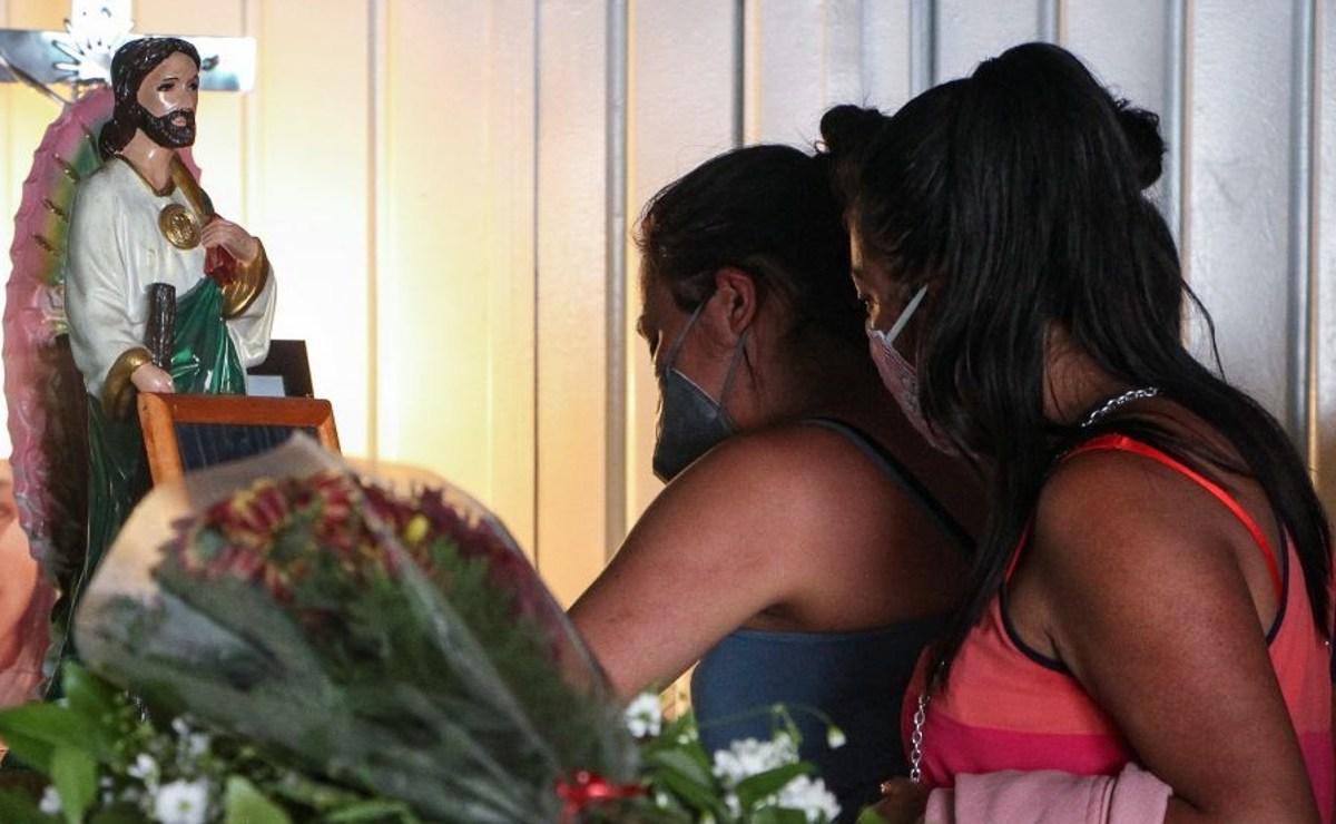 Despiden a víctimas del Chiquihuite, maestra de Dilan lo describe como un niño alegre