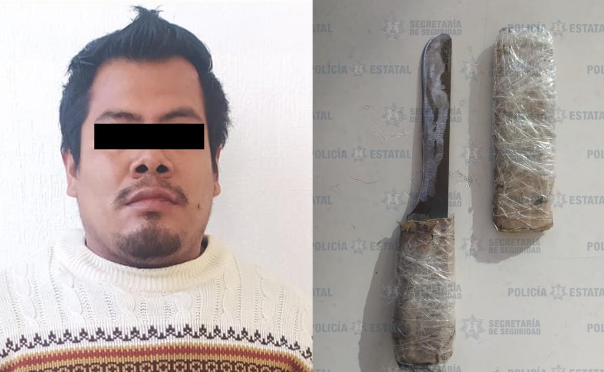 Gracias a denuncia, vecinos del Edomex detienen a sujeto por violencia y tortura infantil