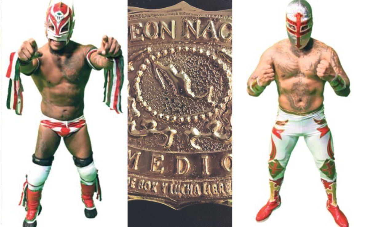 Dragón Rojo Jr y Templario buscarán su lugar en el Campeonato Nacional Medio del CMLL