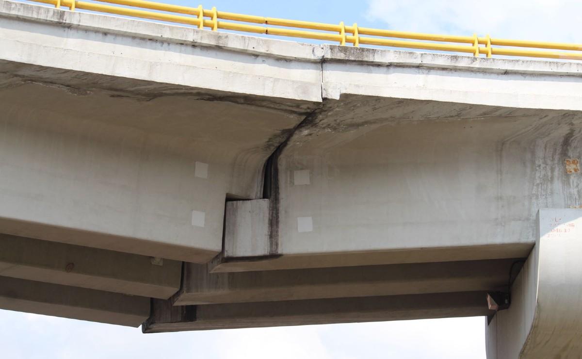 Internautas de Morelos piden que se repare soportes de carretera, por peligro de colapso