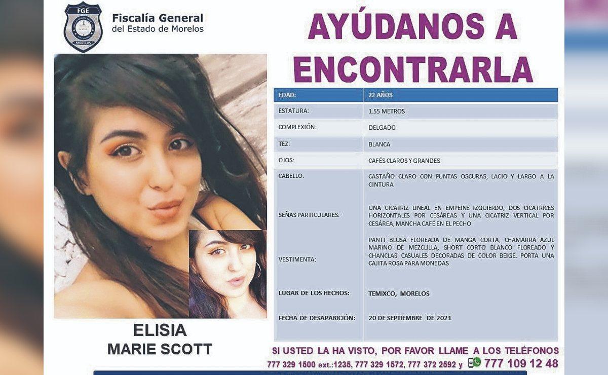 Chavita gringa desaparece en Morelos, esto es lo que hallaron en la casa donde estuvo