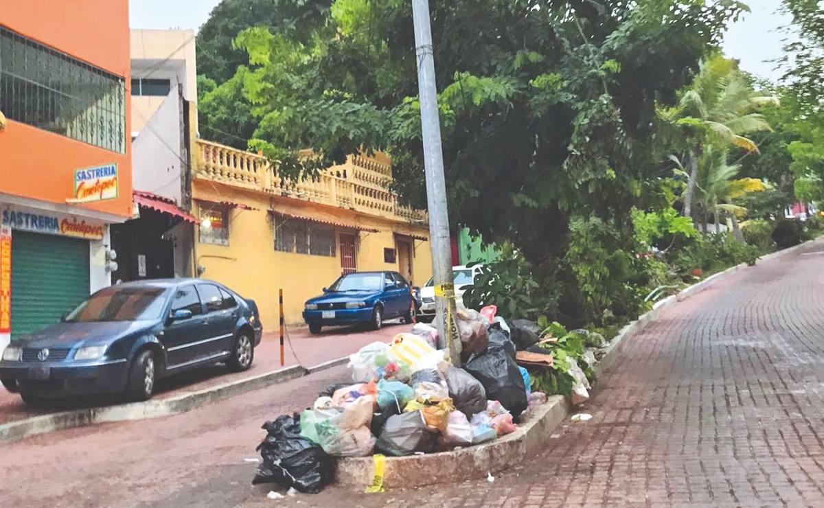 Declaran emergencia sanitaria por acumulación de basura, en Acapulco
