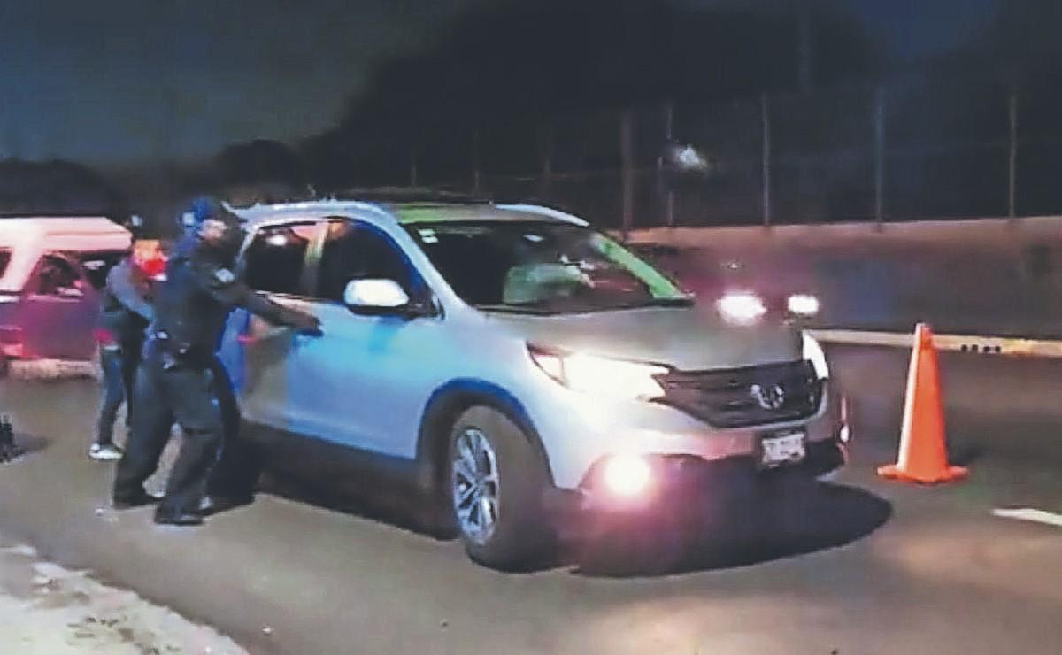 Cae asaltante de autos en el retén de alcoholímetro, en el Estado de México