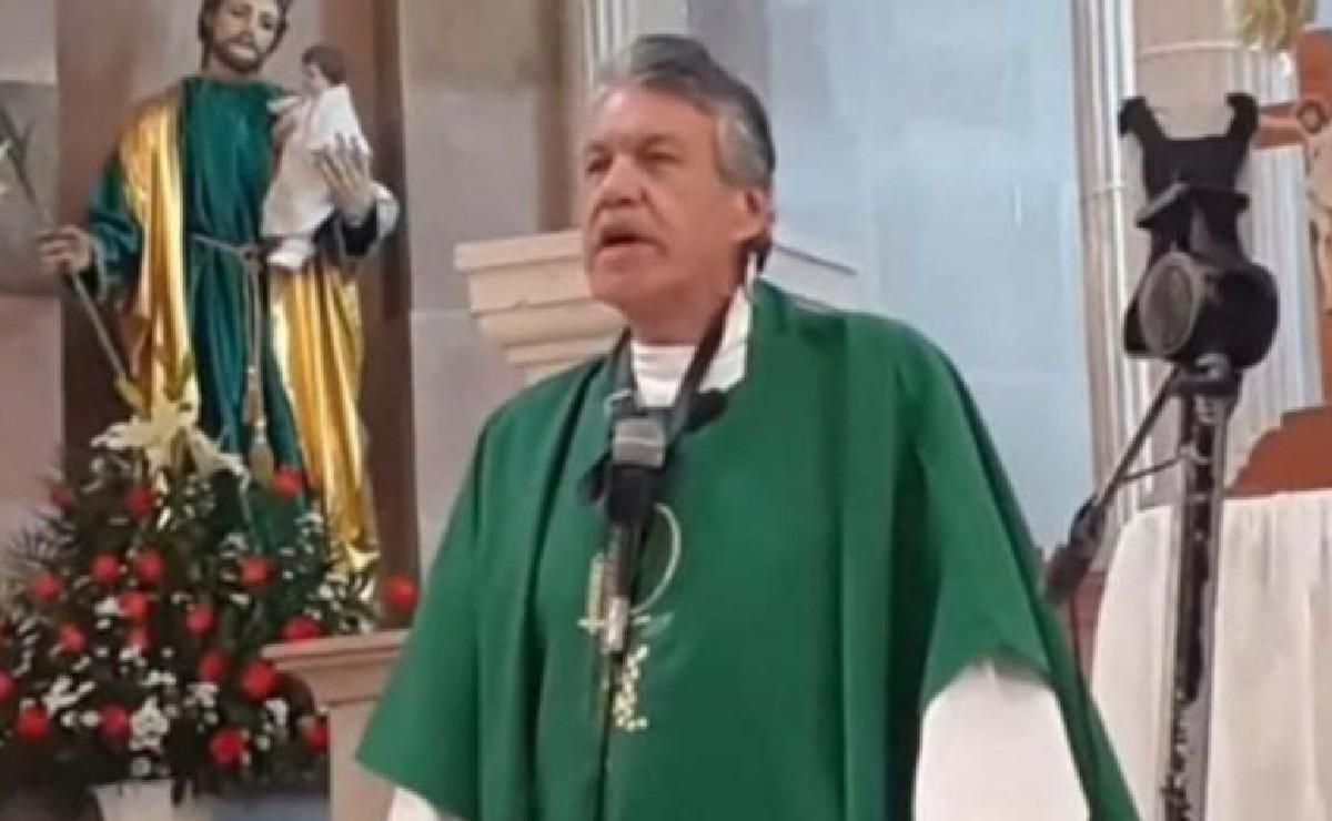 """Llega pinche vieja gorda"", cura de Michoacán se hace viral en TikTok por ser como Dr House"