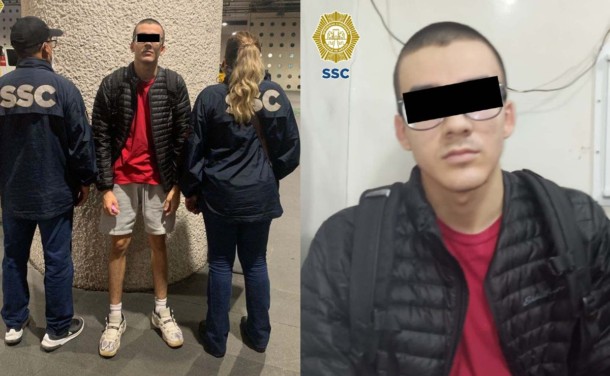 Cae en CDMX un joven de EU que tiene orden de aprehensión por abuso de menores