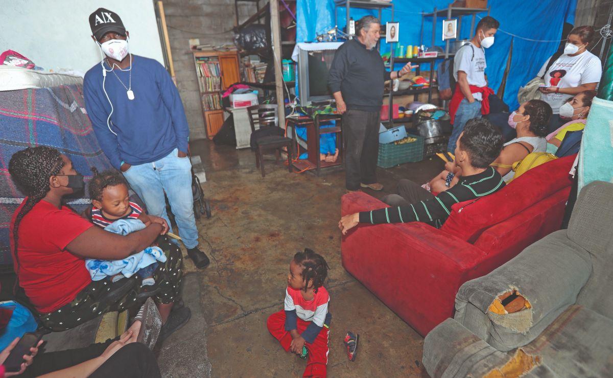 Albergue en Edomex tiene casa llena tras oleada de migrantes, temen contagios de Covid