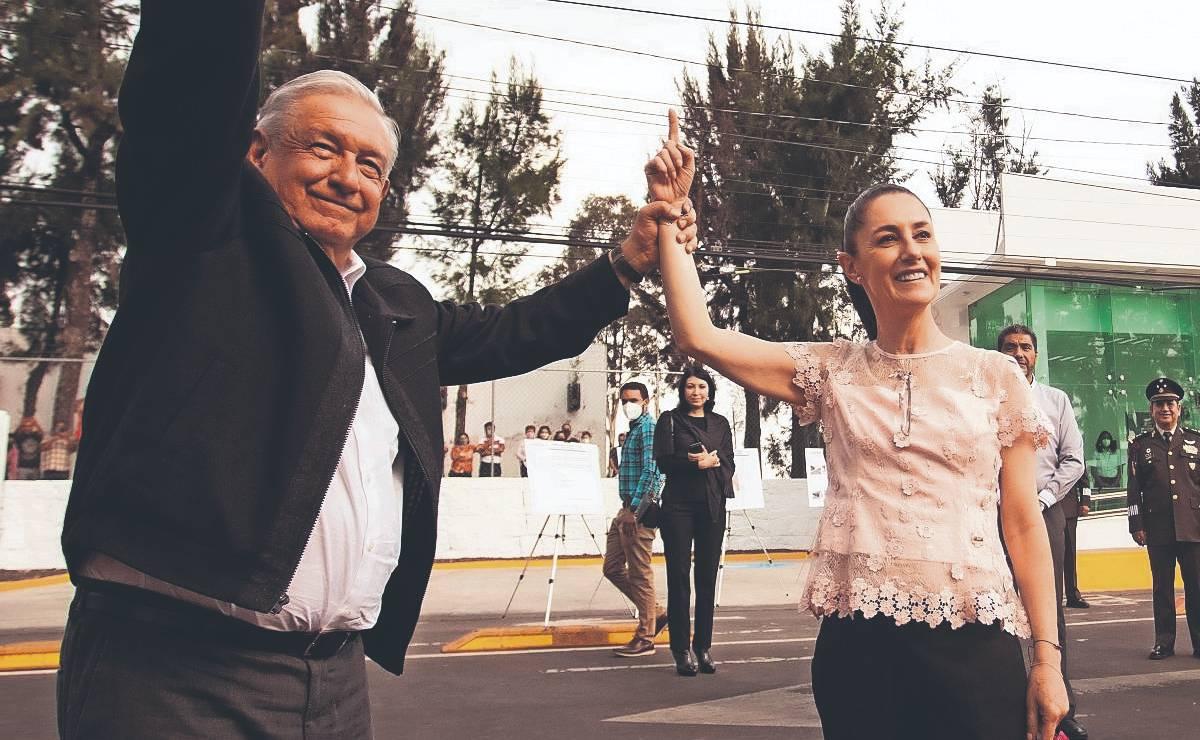 AMLO da su respaldo total a Sheinbaum, ya la ve como aspirante presidencial para 2024