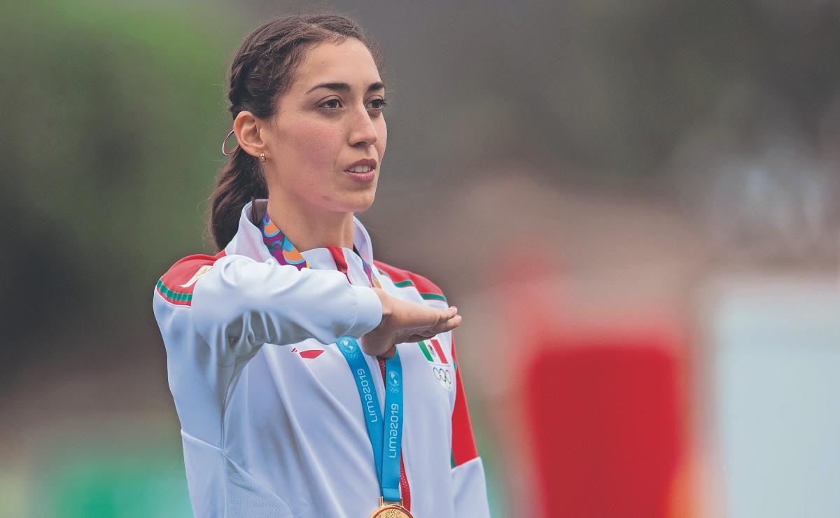 """La pentatleta Mariana Arceo lamenta recorte a becas, por """"malos resultados"""" en Tokio 2020"""
