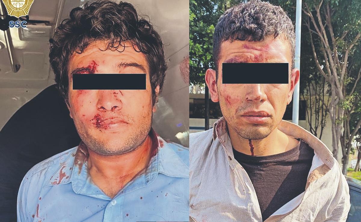 Policías salvan a dos secuestradores de ser linchados por vecinos, en la CDMX