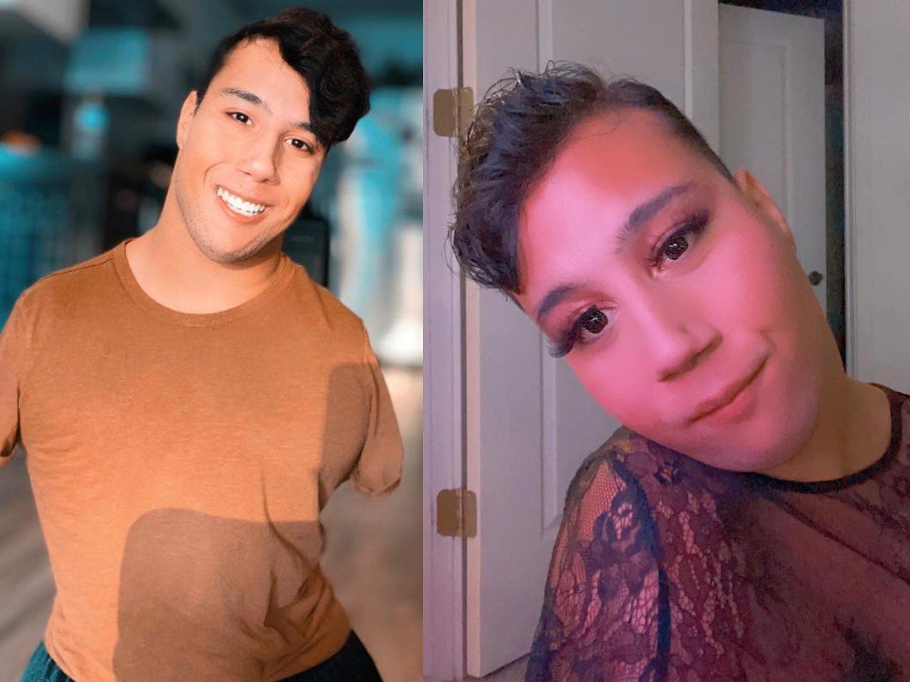 Joven sin brazos y piernas se hace viral en Tik Tok por enseñar a maquillarse