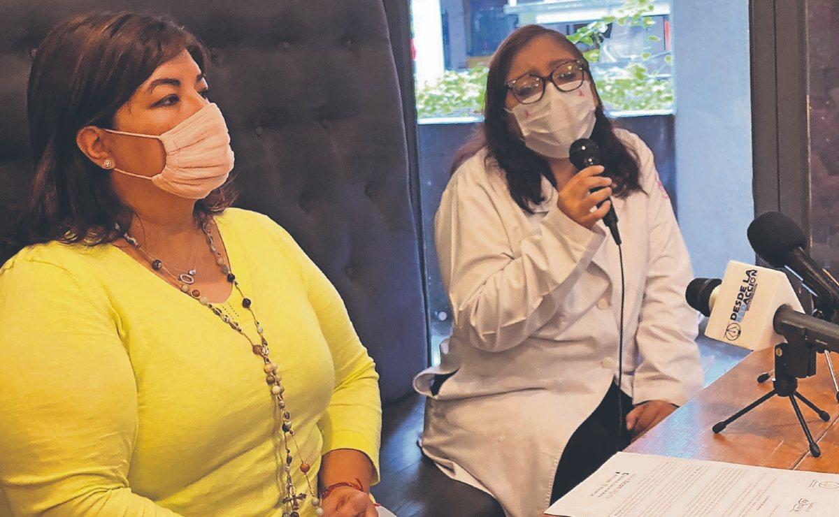 Mujeres de Morelos buscan combatir el cáncer de mamá con la creación de un platillo rosa