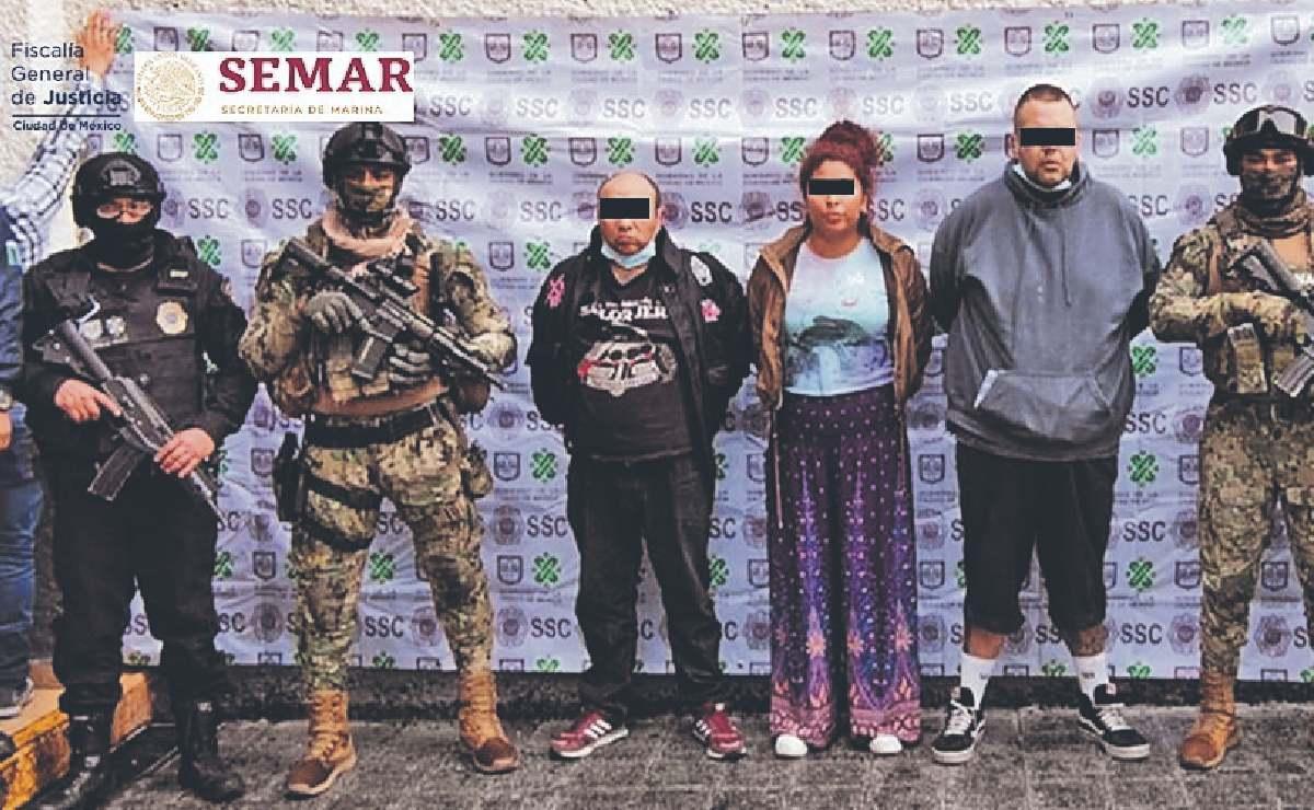 Cae grupo de narcomenudistas dentro de viviendas en Álvaro Obregón, también extorsionaban