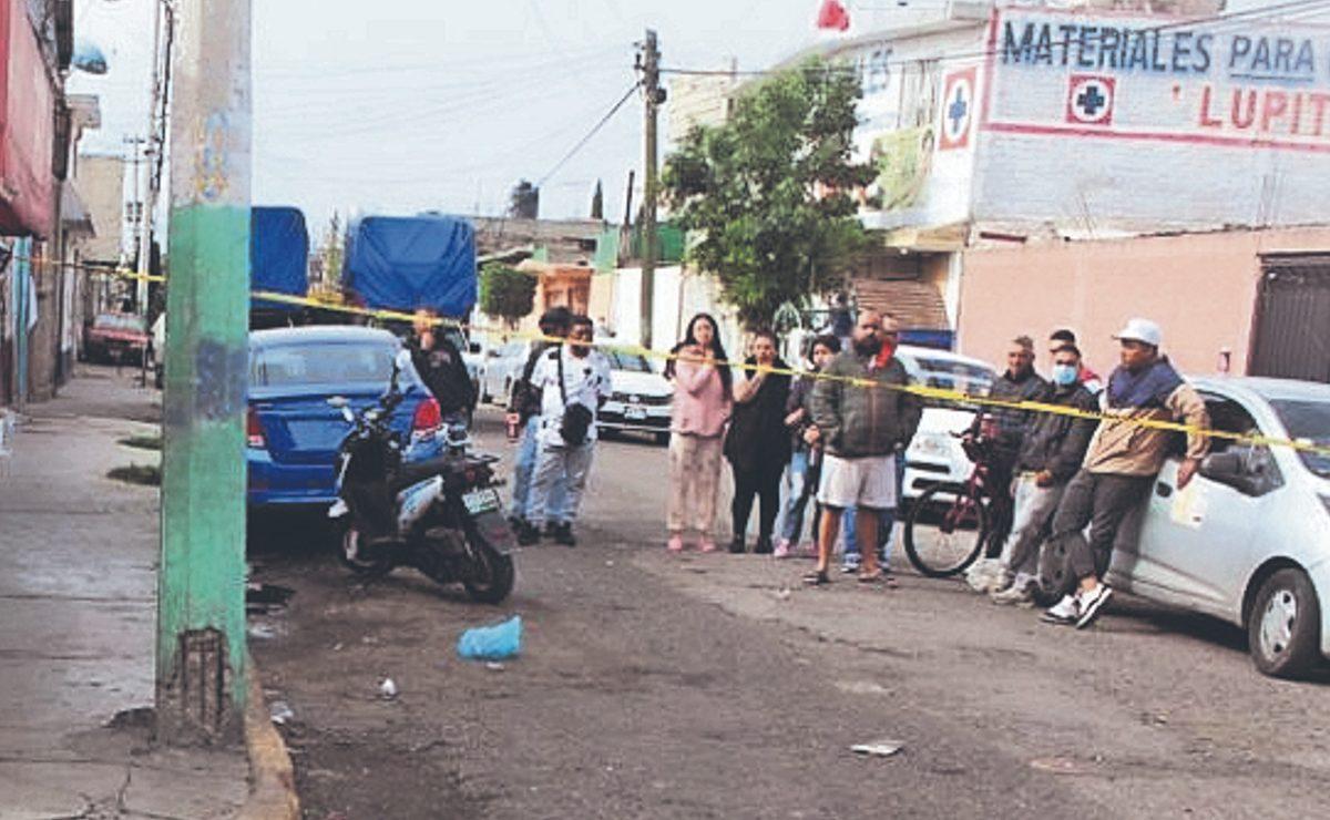 A plomazos, mandan al cielo a Ángel y a Gerardo mientras se echaban trago en Ecatepec