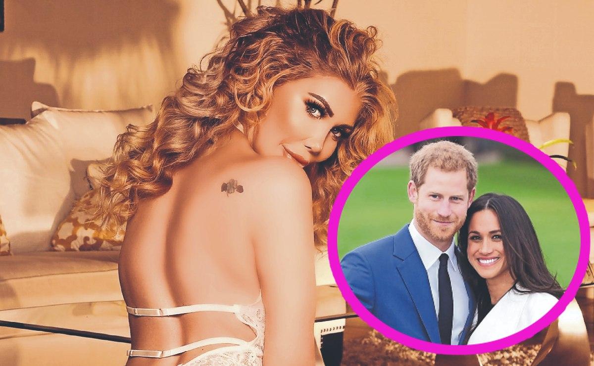 Sexy modelo de OnlyFans sueña con tener una aventura sexual con los duques de Sussex