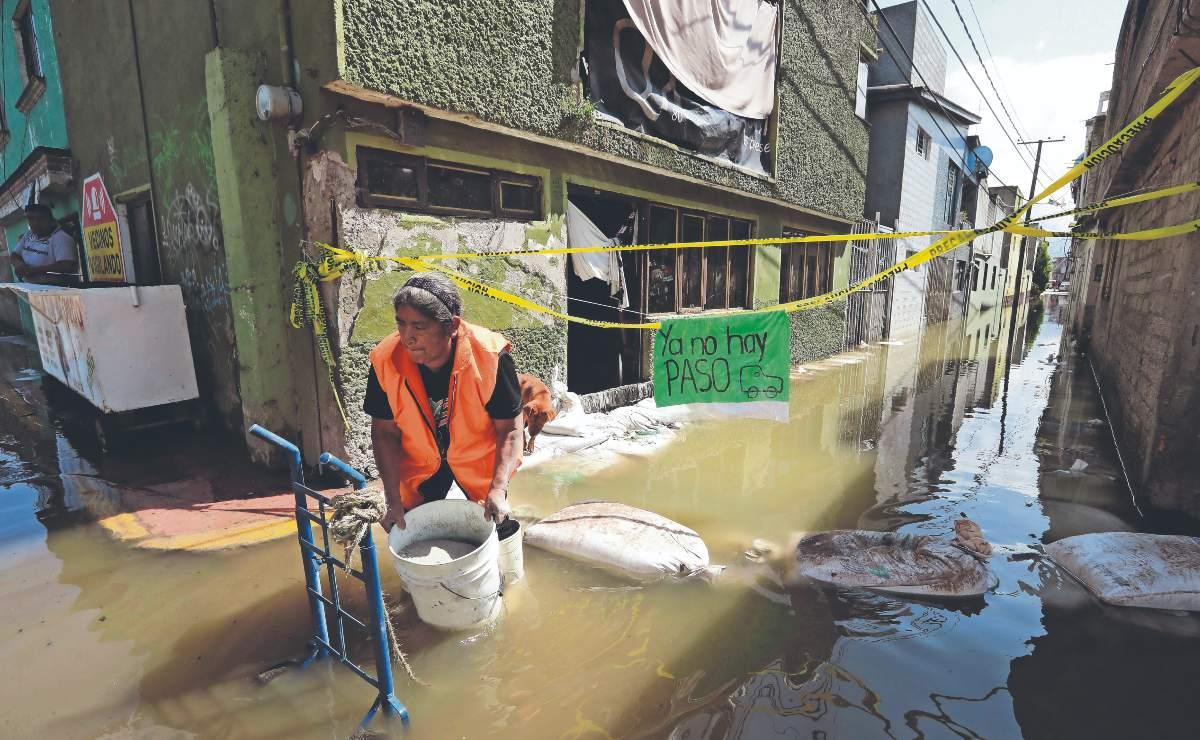 Jalisco y Guanajuato en estado de alerta por desbordamiento de presa, lluvias no paran