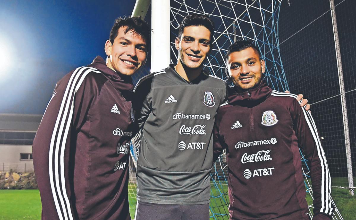 Jiménez, Chucky y Tecatito, la poderosa triada del Tri lista para el juego contra Canadá