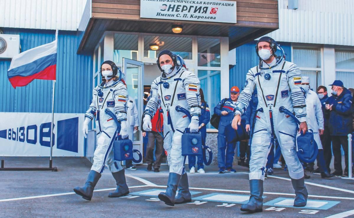 Rusos se preparan para filmar la primer película en el espacio