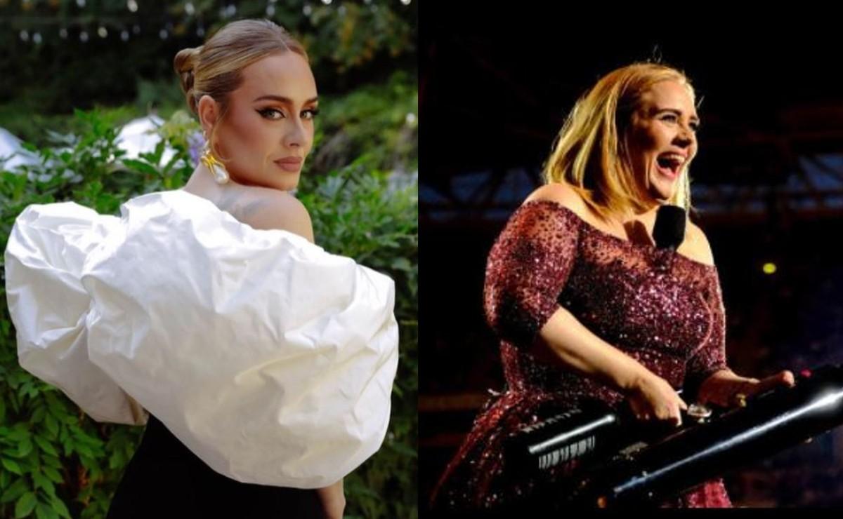 Adele se hace viral por pronunciado escote, para anunciar regreso a la música