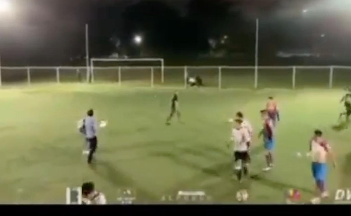 Detienen a tres que desataron balacera en partido de futbol en CDMX, fue grabado en vivo