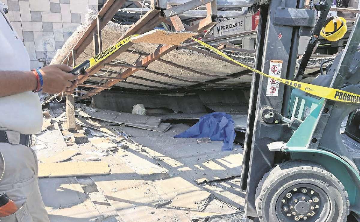 Muere joven albañil tras caerle fachada encima en Ecatepec, se desangró al instante