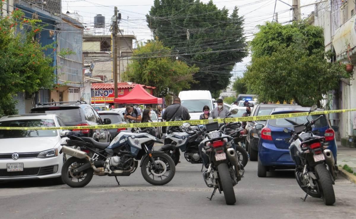 Hermano de exfuncionario municipal del Edomex es acribillado por motosicario