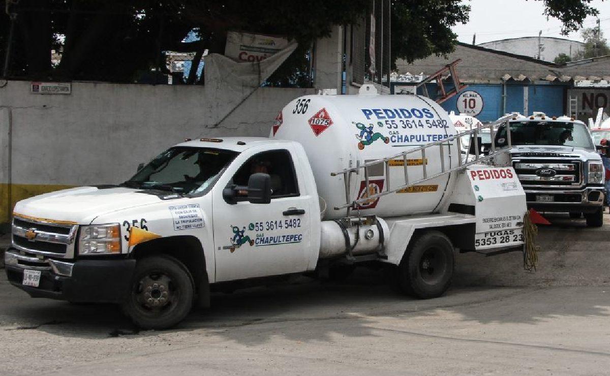 Gaseros amagan con paro de labores indefinido en CDMX, dicen que ganan centavos