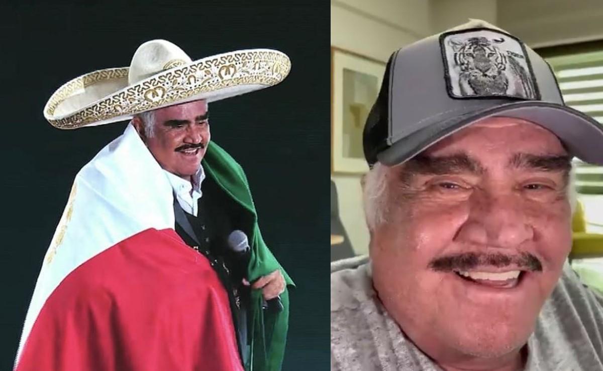 Familia de Vicente Fernández habla de la presunta muerte cerebral del ídolo ranchero