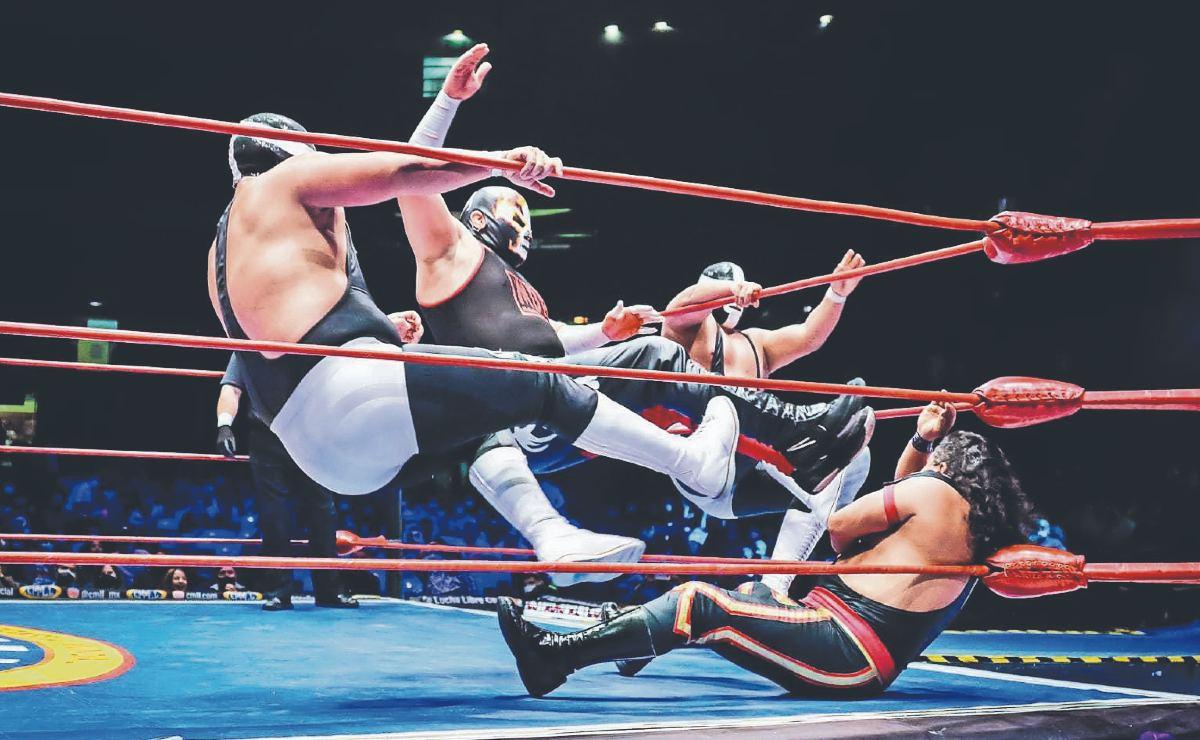 Sagrado formará con los Gemelos Diablo un trío peligroso en el ring
