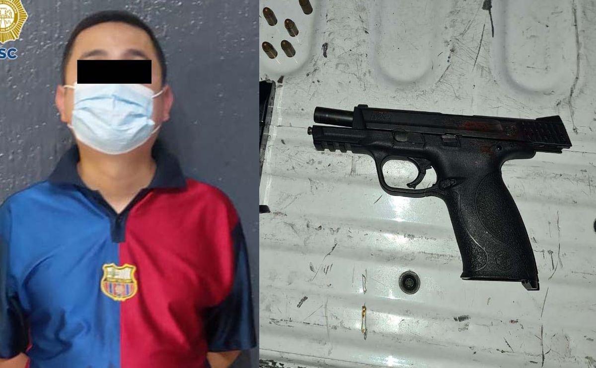 Sobrevivientes de bala logran señalar a su agresor y lo detienen, en CDMX