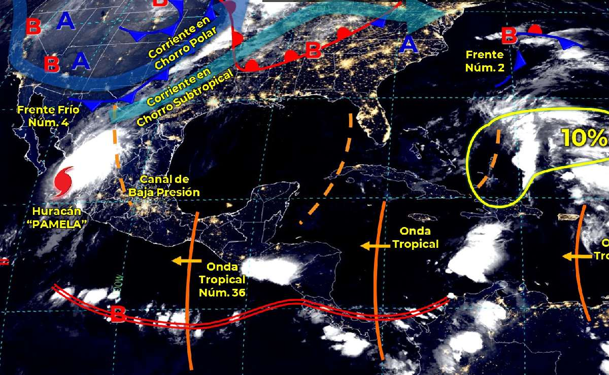¿Cómo va a estar el clima hoy miércoles 13 de octubre en CDMX, Edomex y resto del país?