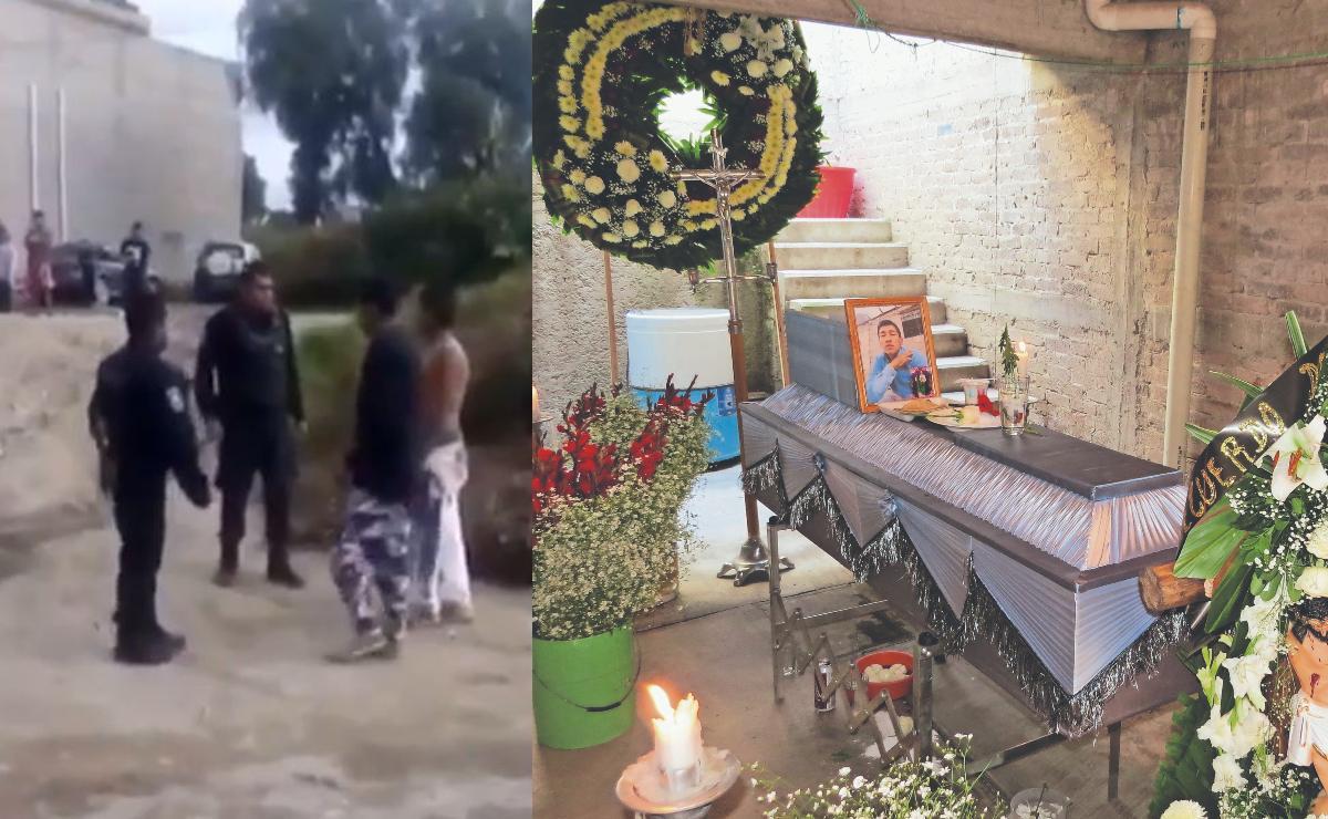 Policías involucrados en asesinato de papá de 2 niños quedarán libres de culpa, en Edomex
